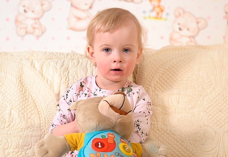 Sophia (2 Jahre) nur eine Herzkammer